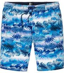 bermuda da spiaggia in poliestere riciclato (blu) - bpc bonprix collection