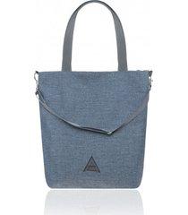 torba na ramię w niebieskim kolorze