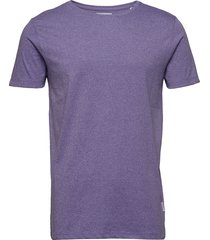 mouliné o-neck tee s/s t-shirts short-sleeved lila lindbergh