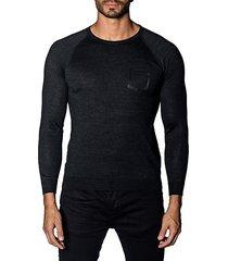 trim-fit lightweight sweater