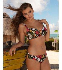 tiki bar underwire sweetheart padded bikini top