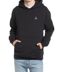 men's jordan essential hoodie, size x-large - black
