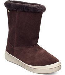 steg shoes boots ankle boots ankle boot - flat brun kari traa