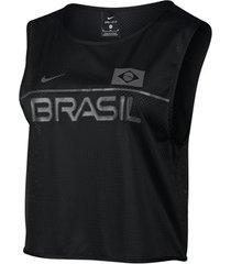 t-shirt korte mouw nike dry energy brazil sl top women