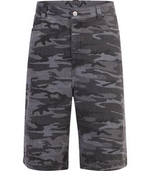camouflage print bermuda shorts