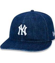 boné new era mlb new york yankees denim retro crown aba reta