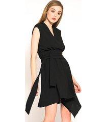 sukienka asymetryczna caro