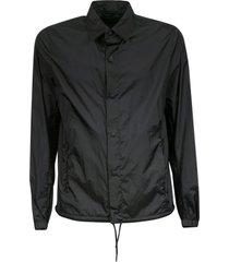 herno drawstring hem plain jacket