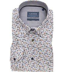 ledub overhemd modern fit print