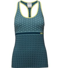 core block tank w t-shirts & tops sleeveless grön craft