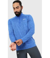 buzo azul under armour ua tech 2.0 1/2 zip