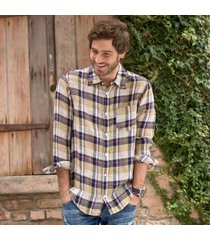 cp shades plaid shirt-yllw