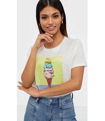 vero moda vmleona s/s sequeins t-shirt vip g t-shirts