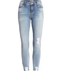women's sts blue caroline ripped high waist straight leg jeans