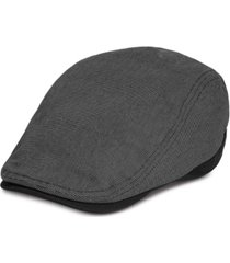 levi's men's flat top ivy hat with piecing and self back adjuster