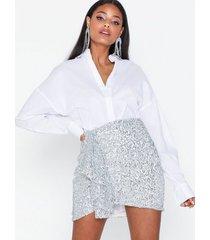 nly trend mini sequin skirt minikjolar