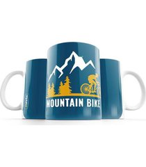 caneca punnto mountain bike - unissex