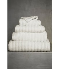 the white company ribbed hydrocotton bath sheet, size one size - ivory