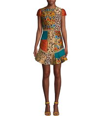 rapunzel patchwork dress