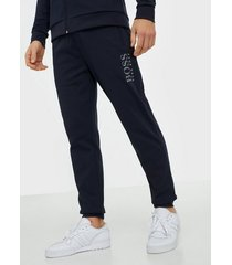 boss tracksuit pants byxor dark blue