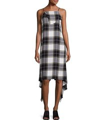 lilu plaid dress