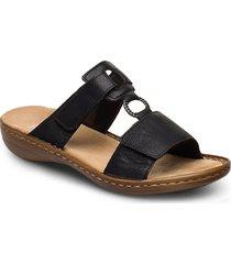 60885-00 shoes summer shoes flat sandals svart rieker