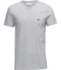 tee-shirt&turtle neck t-shirts short-sleeved grå lacoste