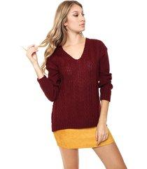 sweater bordó nano