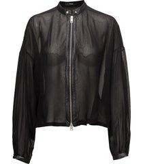 c-oro shirt blouse lange mouwen zwart diesel women