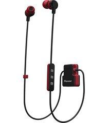 audífonos in ear pioneer cl5bt rojo bluetooth resistente a salpicaduras