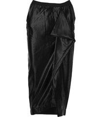 rick owens grace longuette skirt