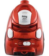aspirador de pó philco maxxi turbo 1500w vermelho 220v