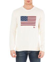 ralph lauren crew neck neckline jumper sweater pullover