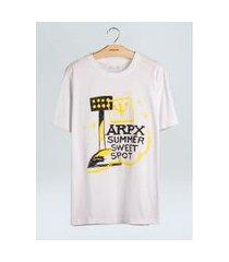 t-shirt stone arpx sweet spot-branco - g