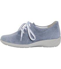 skor semler ljusblå