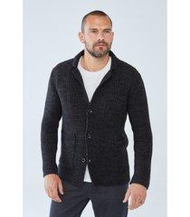 trui boris becker ethan jacket-style cardigan