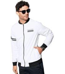 chaqueta para hombre blanco mp