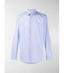 z zegna button-up long-sleeved shirt