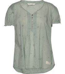 on point blouse blouses short-sleeved groen odd molly