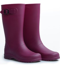 botas impermeables para mujer ginna idecal fucsia