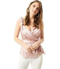 blouse jimmy sanders 19sshtw53022poudra blouse