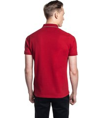 koszulka polo volley czerwony