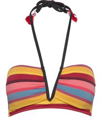 v wire halter bikinitop multi/patroon seafolly