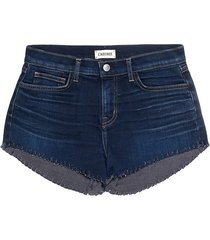 l'agence women's zoe the perfect new denim shorts - authentique - size 29 (6-8)