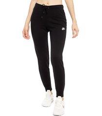 pantalón de buzo nike w nsw essntl pant tight flc negro - calce regular
