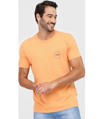camiseta billabong access vii laranja - laranja - masculino - dafiti