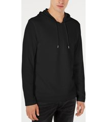 i.n.c. men's textured lightweight hoodie, created for macy's