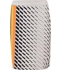 side stripe detail skirt