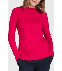 sweater ash fucsia - calce ajustado