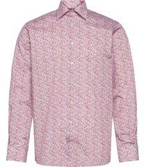contemporary fit offwhite/brown signature twill shirt skjorta business gul eton